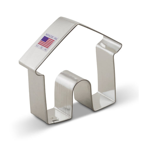 Doghouse Cookie Cutter 3 3/8""