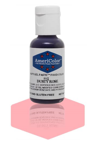 Americolor Soft Gel Paste - Dusty Rose .75 oz