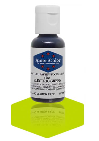 Americolor Soft Gel Paste - Electric Green .75 oz