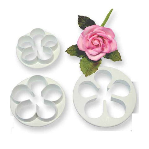 FIVE PETAL CUTTER SET 3 LARGER SIZE