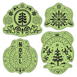 Folk Winter Soft Stamps