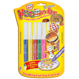 FooDoodler Food Colour Markers - 8 Assorted Colours
