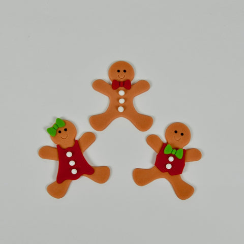 Gingerbread People Set
