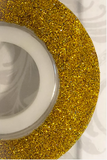 Sweetest Tiers Glitter Turn Table Gold