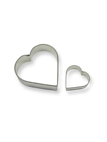 PME Heart cookie cutter Set of 2