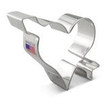 Heart w/ Arrow Cookie Cutter 3 3/4""