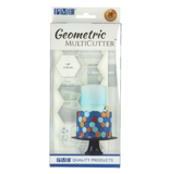 PME Hexagon Geometric Multicutter Set