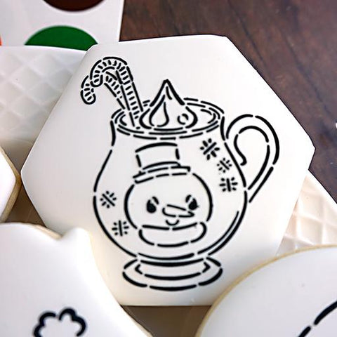 Hot Chocolate Mug PYO  - Cookie Countess (HOLIDAY STENCIL)
