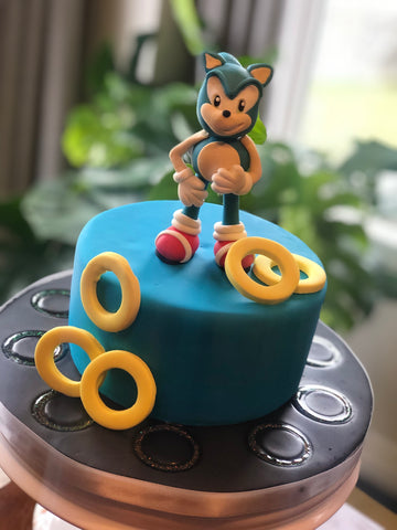 Lightening Fast Hedgehog Cake - Various Dates