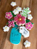SOLD OUT Spring Flowers Cookie Decorating June 8th - 9am - 12pm