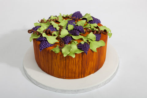 "Wine Barrel ""Just a Slice"" Cake"