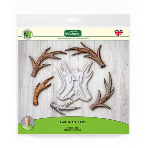Large Antlers Silicone Mould