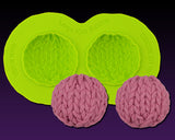 Large Knit Button Mold
