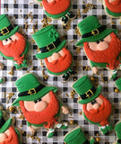Leprechaun cookie cutters set of 3