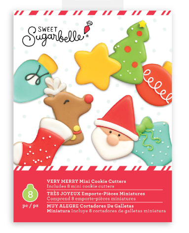 SUGARBELLE Mini Christmas Cutters