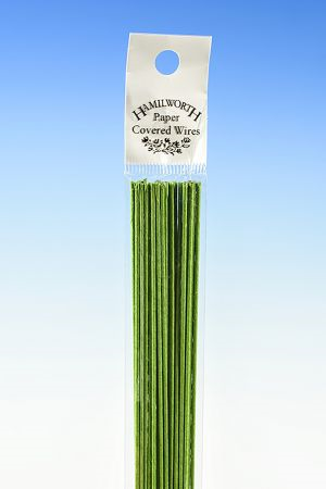 Hamilworth 24 gauge Nile Green Wire
