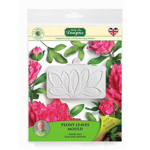 Flower Pro Peony Leaves Silicone Mould