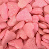 Pink Shimmer Hearts - 3 oz bag