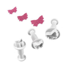 PME Mini Butterfly Plunger Set of 3