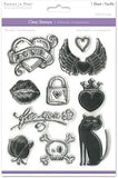 Rock Diva Clear Stamps