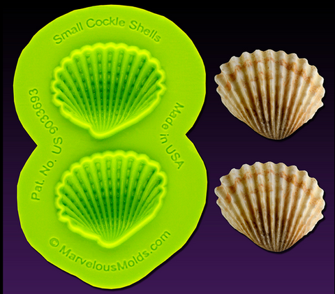 Small Cockle Shell Mold