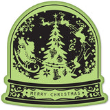 Snow Globe Soft Stamp