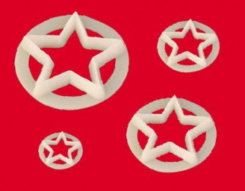 Star Cutter Set of 4