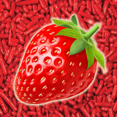 Strawberry Flavoured Jimmies - 1 lb bag