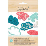 Sugarbelle Words Cookie Cutter & Stamp Set