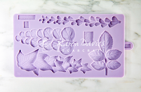 SAVE $20!  Karen Davies Trailing Leaves Mould