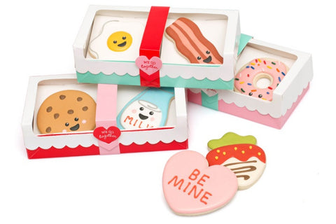 We Go Together Cookie Boxes Package of 3