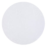 "Package of 6 - 12"" Round Cake Drum (White)"