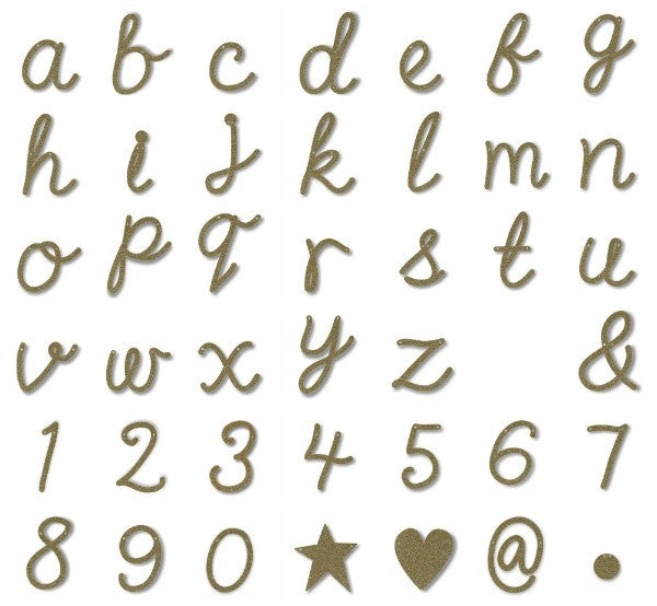 Meri Meri | Alphabet Gold Acrylic Bunting | Single Letters | SALE