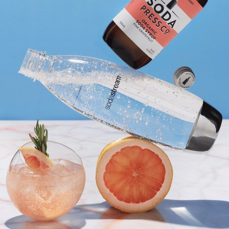 Soda Press Co. | Soda Syrups | Organic Pink Grapefruit