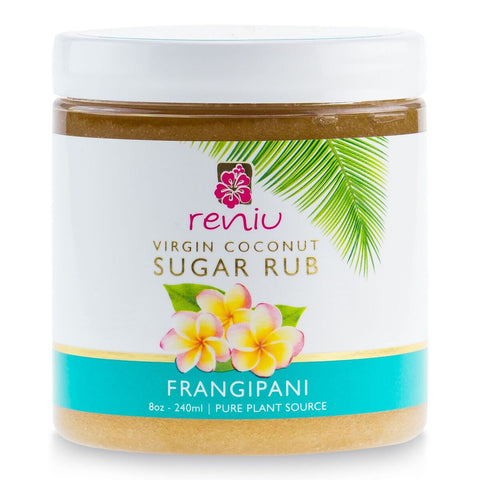 Reniu | Sugar Rub 240ml | Frangipani