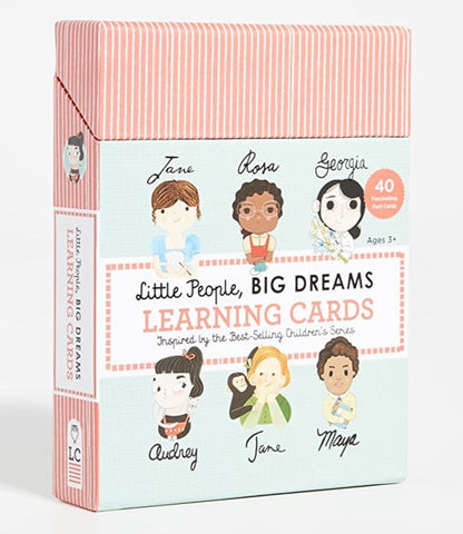 Little People Big Dreams | Learning Cards
