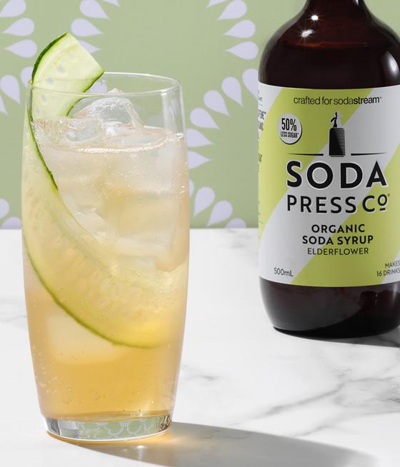 Soda Press Co. | Soda Syrups | Organic Elderflower