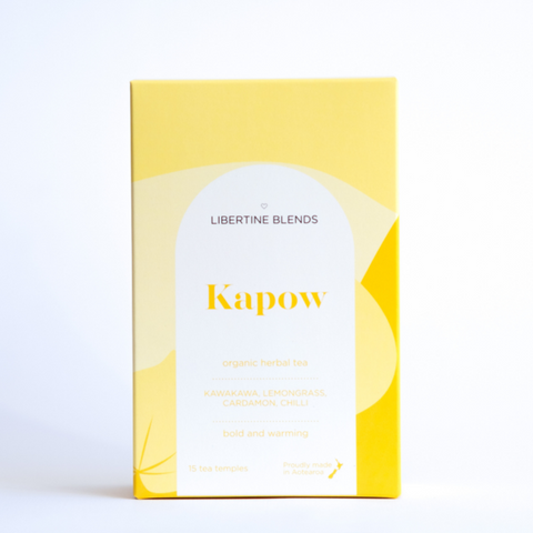 Libertine Blends Tea | Kapow | 15 Temples