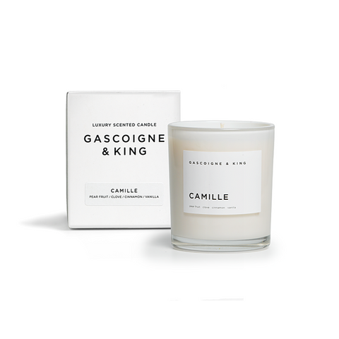 Gascoigne + King | Fragranced Candle | Camille