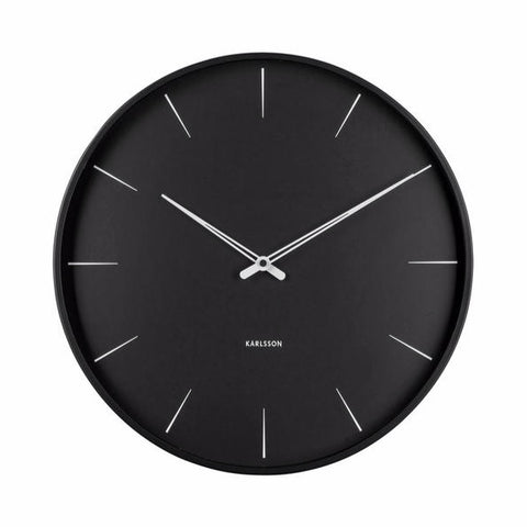 Karlsson | Lure Wall Clock | Black | Medium