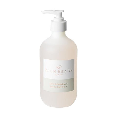 Palm Beach | Hand + Body Wash 500ml | Clove + Sandalwood