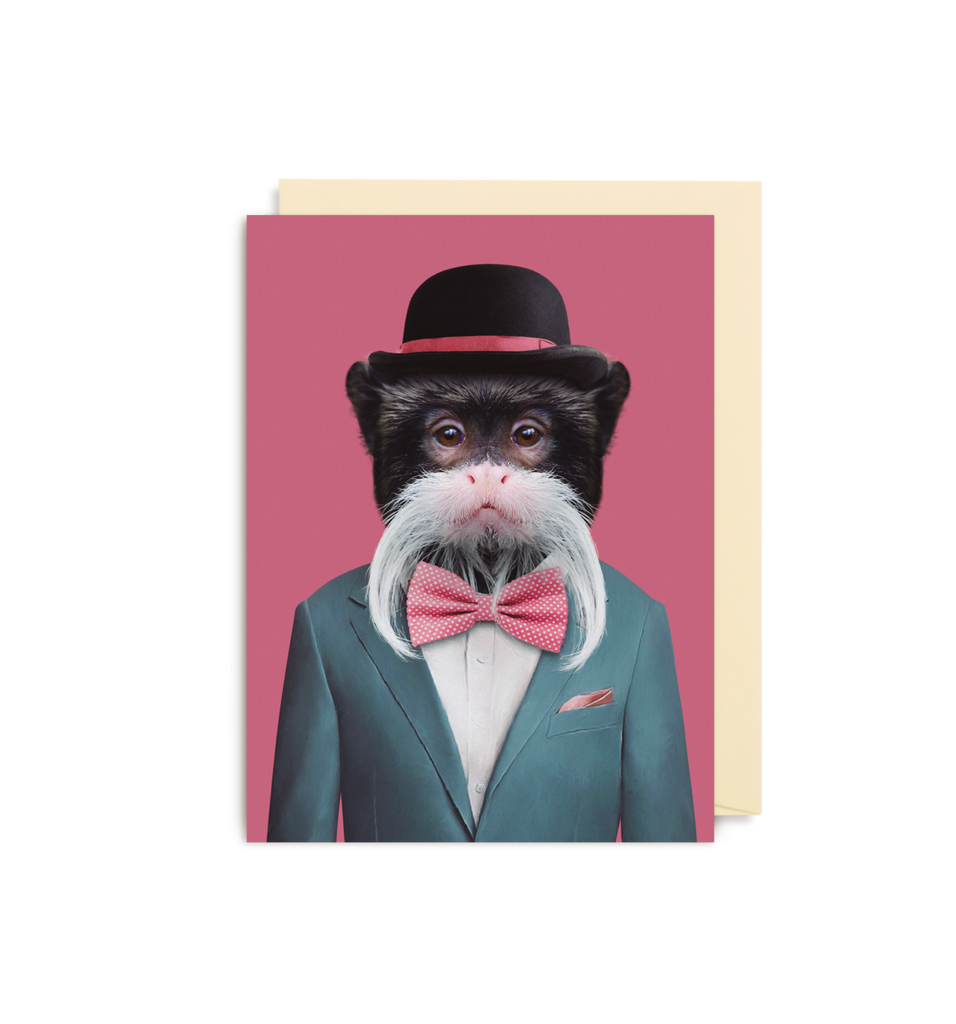 Card | Small | Emperor Tamarin