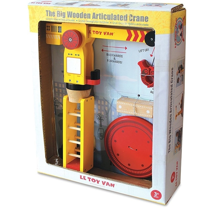 Le Toy Van | The Big Wooden Crane