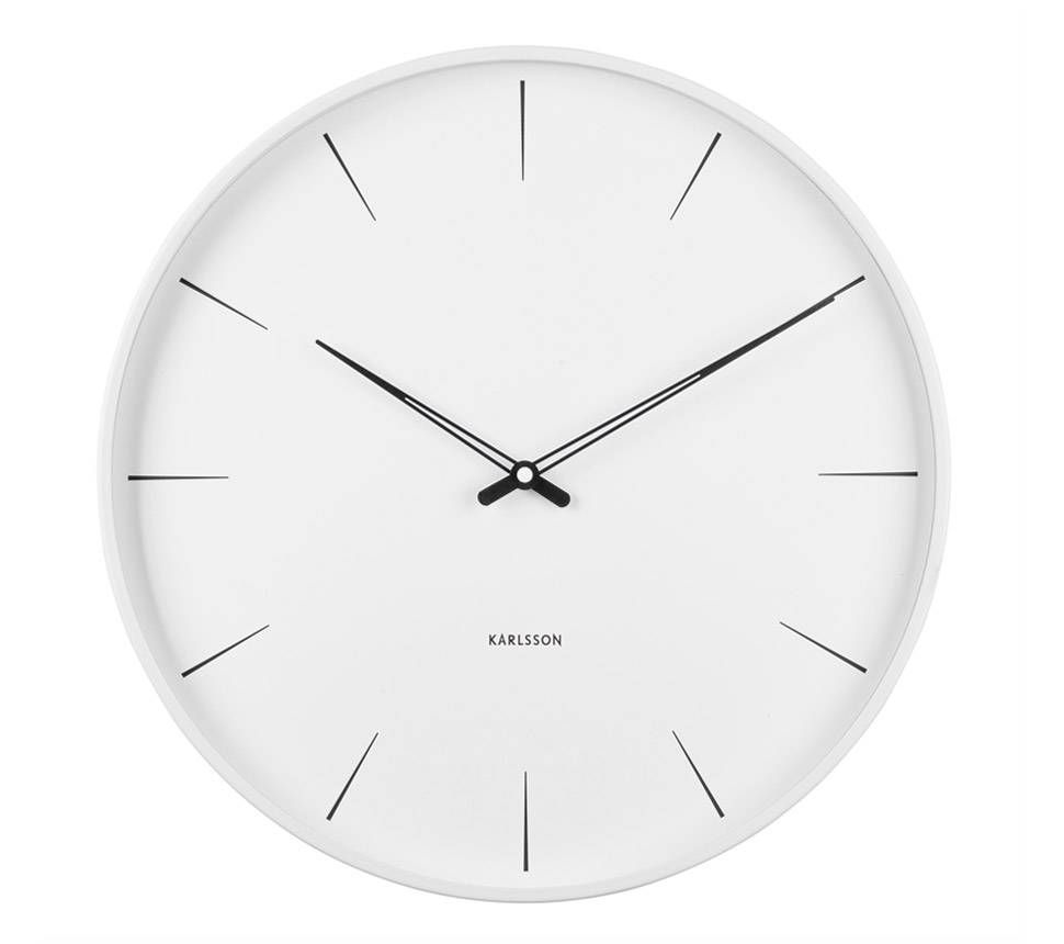Karlsson | Lure Wall Clock | White | Medium