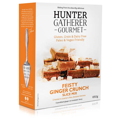 Hunterer Gatherer Gourmet | Fiesty Ginger Slice Mix 600gr