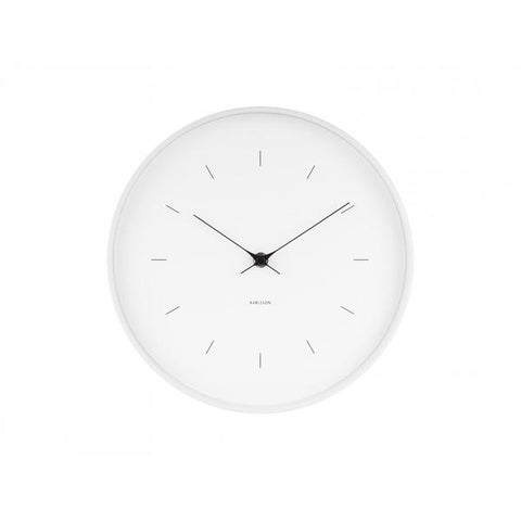 Karlsson | Butterfly Wall Clock | White | Large