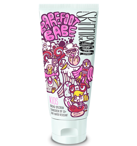 Skinnies | Sungel | SPF50 Kids 100ml |  Barefoot Babe