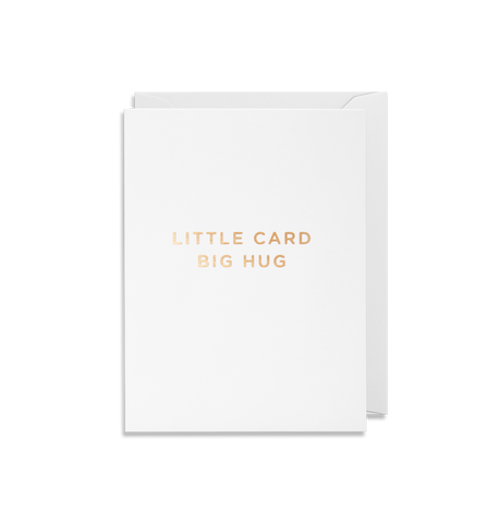 Card | Small | Little Card Big Hug