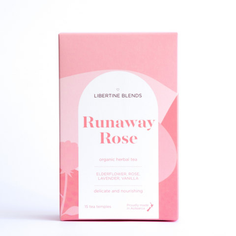 Libertine Blends Tea | Runaway Rose | 50 Temples