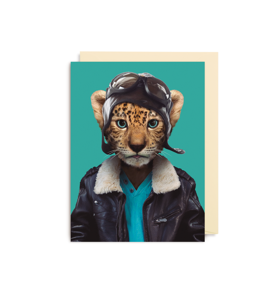 Card | Small | Leopard Cub